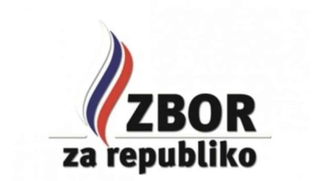 Zbor za republiko logotip